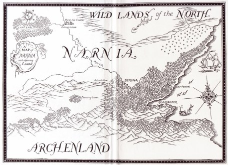 narnia map