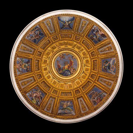 Dome_Cappella_Chigi_from_inside,_Santa_Maria_del_Popolo,_Rome,_Italy